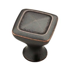 Iron Craft II 1-1/8 Inch Diameter Statuary Bronze Cabinet Knob