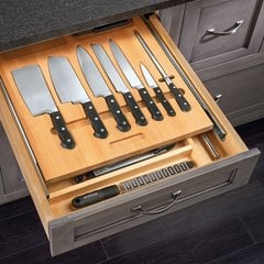 Cutlery Drawer for 24 inch Cabinets with Utensils <small>(#4WTUD-24-SC-1)</small>