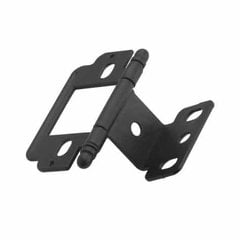 Full Inset Ball Tip Hinge-Flat Black Sold Each