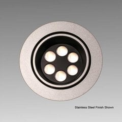 Big6/2-LED White Swivel Spotlight - Cool White <small>(#BIG6/2/WH/CW)</small>