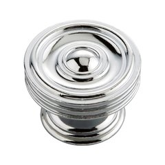 Williamsburg 1-5/8 Inch Diameter Chrome Cabinet Knob <small>(#P3130-CH)</small>