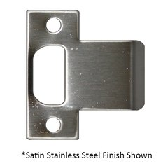 """Extended Lip T Strike 2-3/4"""" X 1-3/4"""" Satin Bronze <small>(#ETS-175-609)</small>"""