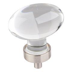 Harlow Cabinet Knob 1-5/8 inch L - Satin Nickel