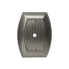 Allison One Cable Wall Plate Satin Nickel <small>(#BP36540G10)</small>