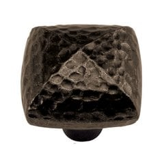 Mountain Lodge 1-1/4 Inch Diameter Dark Antique Copper Cabinet Knob