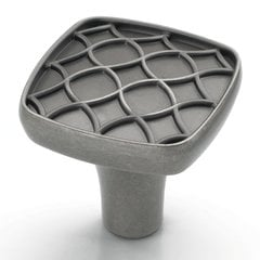 Marsden 1-1/8 Inch Diameter Weathered Nickel Cabinet Knob