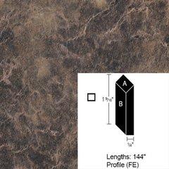 Wilsonart Bevel Edge - Bronzed Fusion - 12 Ft <small>(#CE-FE-144-1796K-07)</small>