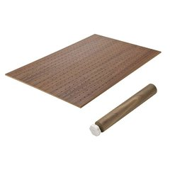 Hafele Base Plate Set Walnut Veneer 557.47.701