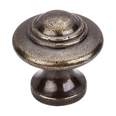 Britannia 1-1/4 Inch Diameter German Bronze Cabinet Knob <small>(#M16)</small>