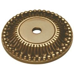 "Savannah Back-plate 1-5/8"" Dia Sherwood Antique Brass"