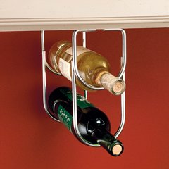 Double Bottle Holder - Chrome