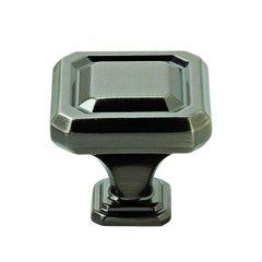 """Wells Knob 1-1/4"""" Dia Gunmetal <small>(#BP36546GM)</small>"""