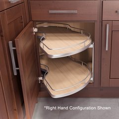 "Twin Corner 2 Blind Corner Pull-Out 45"" W - Left Hand <small>(#9000 2411)</small>"