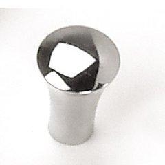 Delano 5/8 Inch Diameter Polished Chrome Cabinet Knob <small>(#26426)</small>