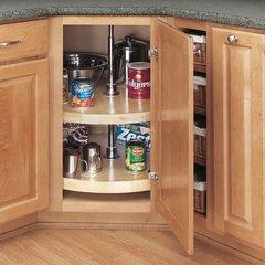 "Rev-A-Shelf Full Circle 2 Shelf Set 32"" Diameter-Wood 4WLS072-32-52"