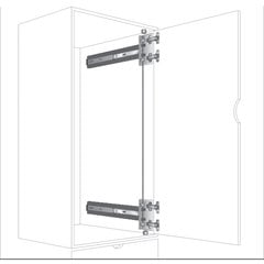 KV 8092 4X4 Pocket Door Slide 18""