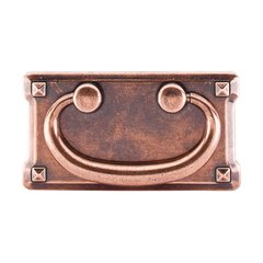 Chateau 3 Inch Center to Center Old English Copper Cabinet Pull <small>(#M236)</small>