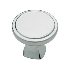 Julian 1-1/4 Inch Diameter Polished Chrome Cabinet Knob