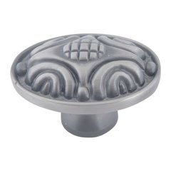 Odeon 1-3/4 Inch Diameter Pewter Cabinet Knob <small>(#4003-P)</small>