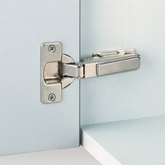 Nexis Screw On 95° Full Overlay Hinge - Self Close