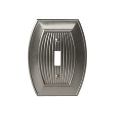 Allison One Toggle Wall Plate Satin Nickel