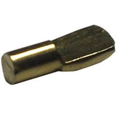 1/4 inch Spoon Clip Bright Brass - Sold Per Hundred
