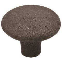 Aston Falls Knob 1-3/8 inch Diameter Cast Iron