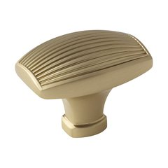 Sea Grass 1-1/2 Inch Diameter Golden Champagne Cabinet Knob <small>(#BP36614BBZ)</small>