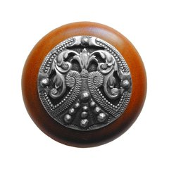 Olde Worlde 1-1/2 Inch Diameter Antique Pewter Cabinet Knob <small>(#NHW-701C-AP)</small>