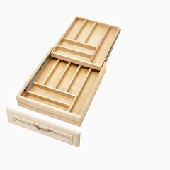 "4WTCD Soft Close Double Cutlery Drawer for 21"" Cabinet"