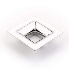 Finestrino 1-1/4 Inch Center to Center Polished Chrome Cabinet Pull <small>(#440-26)</small>