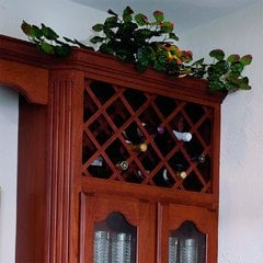 17X36 Cherry Lattice Panels
