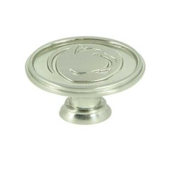Collegiate 1-1/2 Inch Diameter Satin Nickel Cabinet Knob