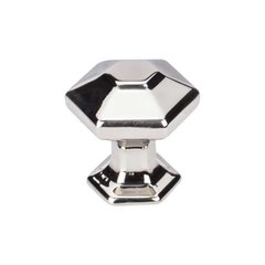 Transcend 1 Inch Diameter Polished Nickel Cabinet Knob <small>(#TK711PN)</small>