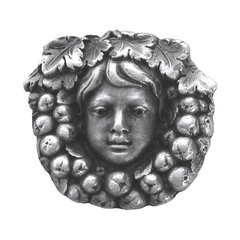 Tuscan 1-3/8 Inch Diameter Antique Pewter Cabinet Knob