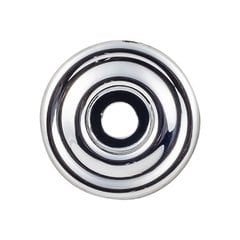 "Devon Brixton Backplate 1 3/8 "" Dia Polished Chrome <small>(#TK890PC)</small>"