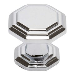 Dickinson 1-1/4 Inch Diameter Polished Chrome Cabinet Knob <small>(#319-CH)</small>