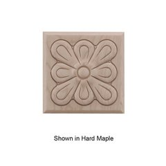 Small Fleur Tile Unfinished Walnut <small>(#01901015WL1)</small>