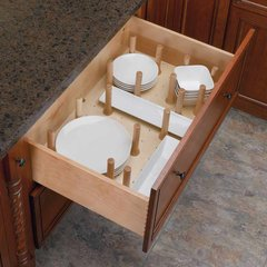 Medium Drawer Peg System-Wood