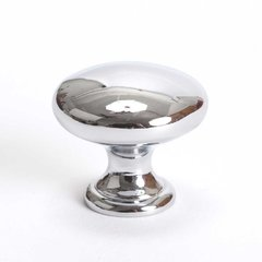 Advantage Plus 7 1-1/4 Inch Diameter Polished Chrome Cabinet Knob <small>(#9433-4026-P)</small>