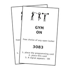 FPS Gym Free Locker Set