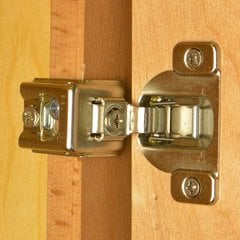 Compact 39C Face Frame Hinge / Plate 1-3/8 inch Overlay
