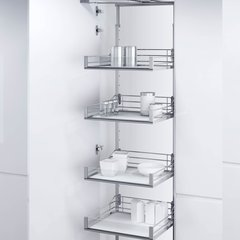 "VSA Pantry Frame 74-7/8"" - 84-1/4"" Chrome <small>(#9000 5455)</small>"