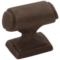 Raw Iron Knob 1-9/16 inch Diameter Cast Iron