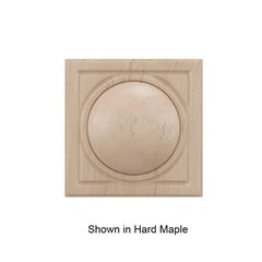 Brown Wood Small Infinity Tile Unfinished Walnut 01901038WL1