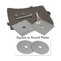 Foremount Counter Mounted Bearing Plate Kit