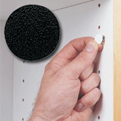 14MM Stick-On Cover Cap Black PVC - 1040 Per Box <small>(#FC.SP.916.BL)</small>