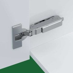 Tiomos 95° Screw On Overlay Hinge - Self Close