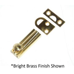 4 inch Slide Bolt Satin Chrome <small>(#SB-4-626)</small>