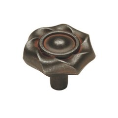 Charleston Blacksmith 1-1/4 Inch Diameter Rustic Iron Cabinet Knob